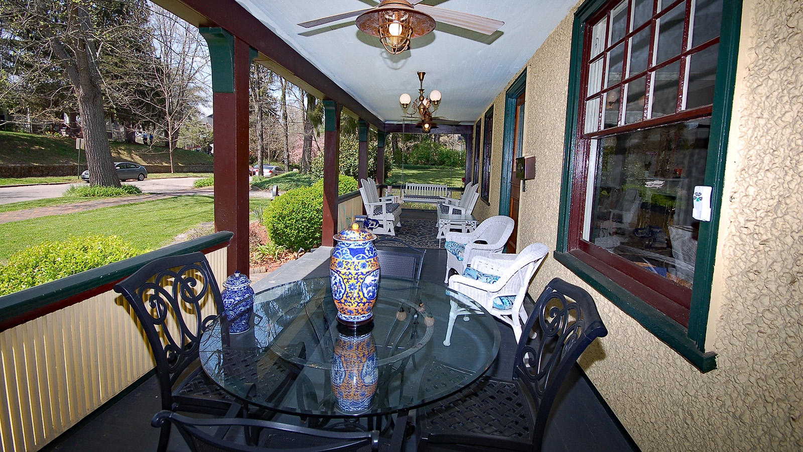 Asheville Bed & Breakfast with Dining Porch