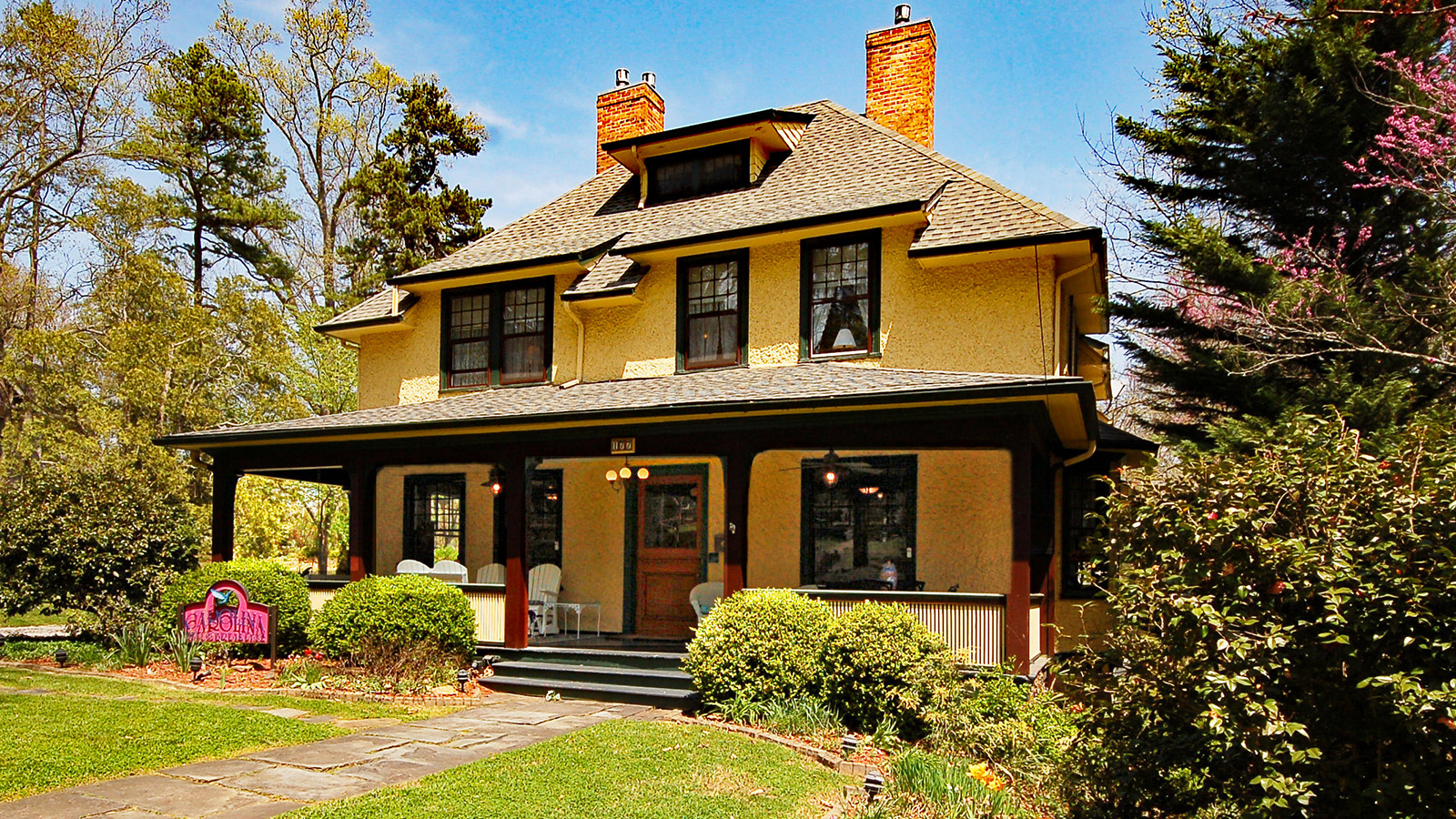 Carlina Bed & Breakfast - Asheville Bed and Breakfast Inn in Historic Montford