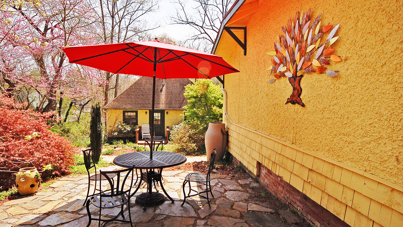Outdoor Patio Area